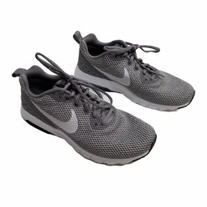Nike Mesh Sneakers Shoes Men's Size 8 Gray Lace Up